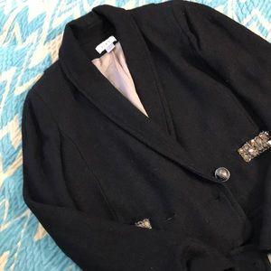 Loft jacket with rhinestone detail!